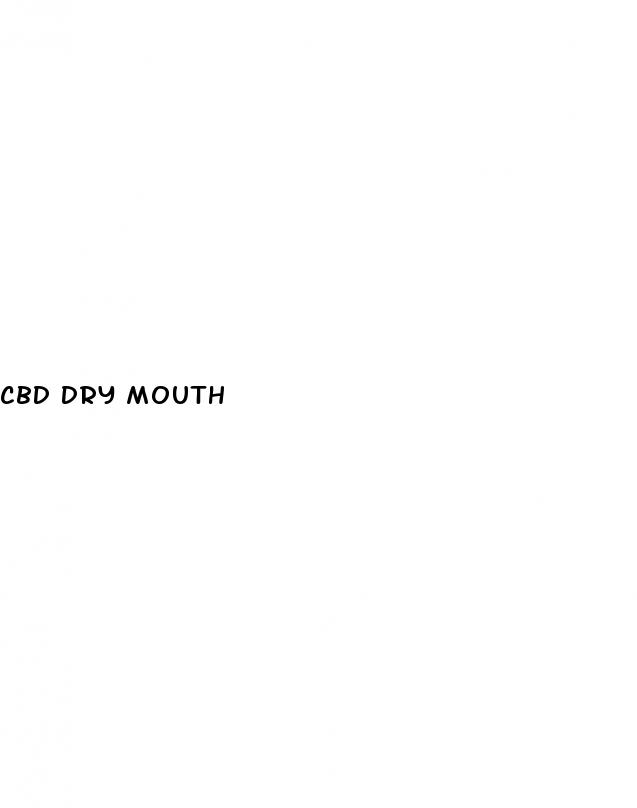 Cbd Dry Mouth